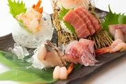 新鮮な魚介類と便長炭火焼が自慢の和食居酒屋♪美味しいまかないつきもウレシイ♪