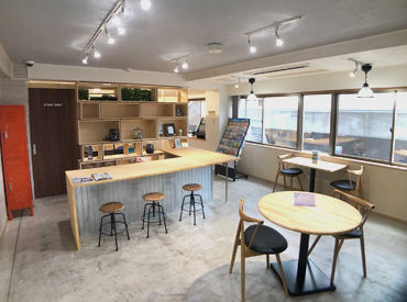 ◆ 快適なオフィス ◆ まるでCafeのような オシャレなオフィスで働きませんか♪