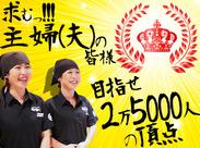 年に1回開催される「ホスピタリティ・パートナーズ・コンテスト」! 25000人の頂点を目指して、自分の全てを出し切りましょう!