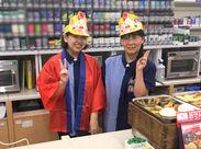 。*★ローソン八幡黒崎三丁目店★*。新しい仲間を大募集!!服装・髪型・自由◎自分らしく働ける職場です♪