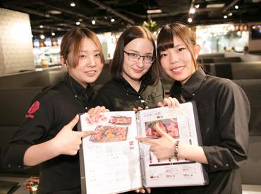 【店舗Staff】高級なお肉!?美味しいビール!?話題のオシャレなお店でSTART★*。 ランチでは主婦さん♪ キッチンでは留学生も★\活躍中!/