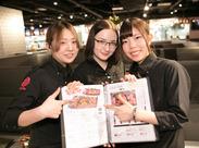 (1)金タレ 自由が丘店 国産食材と野菜にこだわる焼肉専門店★研修では、焼肉の焼き方も学べますよ♪