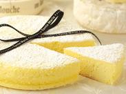 テレビや雑誌でも紹介されたカマンベールチーズケーキ!他にも焼き菓子やクッキー、パイ…自信を持ってお客様におすすめできます!