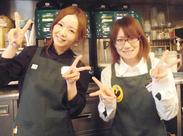 <堺筋本町駅より徒歩1分!> staffはみんな活気があって、とても仲良し♪『バイト/パート仲間が欲しい』という方も大歓迎です★