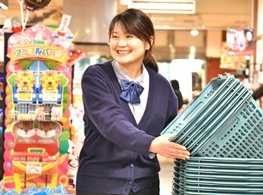 【店舗STAFF】西鉄グループで安心のオシゴト**スタッフ満足度の高さが魅力♪学生~主婦~シニア…幅広く活躍中!嬉しい♪従業員割引あり◎