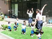 子どもが好きな方大募集!笑顔を見ていると…元気がもらえます♪やりがい抜群ですよ◎