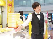 未経験OK!写真のようにお客様に笑顔で挨拶できればOK★人と接することが好きな君におすすめ!MAX時給1600円!
