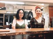 専門学校卒生から、趣味で裁縫を行っていた方など色んな方が活躍中◎ 年齢も幅広く、20代からベテランさんまで勤務しています!