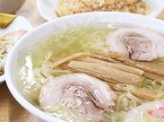 佐野系×自家製手打ち麺×透き通ったスープが自慢★あなたも食べたらやみつきになるはず!まかないで食べられます!