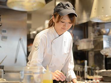 【キッチンスタッフ】SNS映えもしちゃう本格的なスペイン料理ちょっと学んでみませんか?いつのまにか料理上手に!?週2~1日3h~OK!