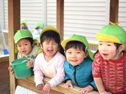 """可愛い子どもたちの笑顔に囲まれてお仕事★*゜「久しぶりで不安…」という心細さもしっかりサポート‼安心して下さいね""""◎"""""""