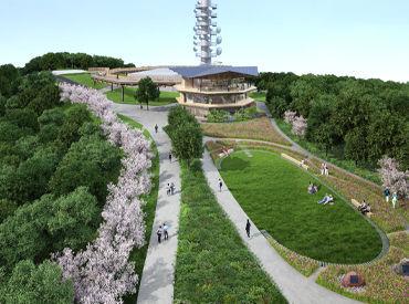 【カフェSTAFF】国際色豊かな<日本平山頂シンボル施設>でカフェSTAFF大募集♪観光客の皆さんを笑顔で【おもてなし】してください◎