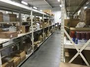 □□倉庫内で快適♪□□ コンパクトな空間なので、動き回る必要もありません! 気になる方は、お気軽にご応募くださいね◎