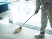 お掃除して軽く身体を動かすことで、適度な運動もできますよ◎ ※画像はイメージ