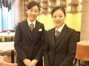★ホテル内の宿泊Staffも同時募集中!★ 8:00~17:00/12:00~21:00/13:00~22:00から選べます◎