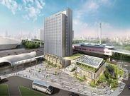 new!有明駅に新しいホテルが誕生◆*綺麗でおしゃれなできたてのお店で働いてみませんか?未経験さんも大歓迎です♪