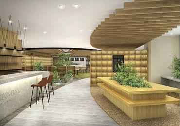 ◆安定の東急グループ◆ 新しく10月に茅場町駅直結予定ビル! ライブラリー併設のカフェがオープン♪