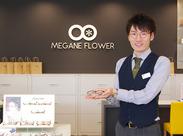 < 未経験大歓迎♪ > フレームの種類/色/度数… 世界に1本だけの、お客さまのための メガネ作りをお手伝い◎