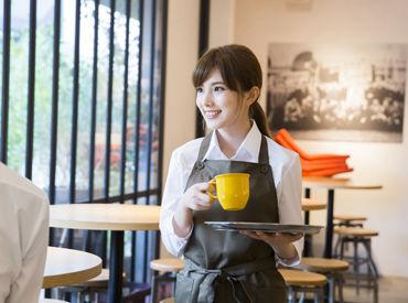 【Cafeスタッフ】何か新しいことをしたい …と思っていた時憧れのカフェで働いてる自分を想像したら自分のことがちょっと好きになりました!