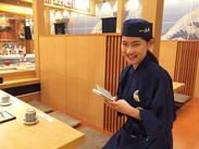 """100円寿司じゃないから、""""美味しい""""を求めるお客様が多数♪子育て中の主婦さんも活躍中です!!!"""