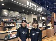 シックでお洒落な店内の【KEY'S CAFE】がソレイユ内に登場★髪型自由♪そのままのアナタでOK!