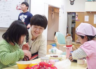 """【サポートSTAFF】支援が必要な子ども達も、""""子どもらしい生活""""を送ってもらいたい―◆+.゚そんな想いのもと、毎日笑顔で活動しています♪"""