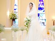 「 私もココで結婚式あげたい♪ 」そんなうっとりするほどキレイな式場です★