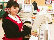 メグリア三好店でレジのお仕事!「ピピピッ」とひたすらレジを進めていくだけ◎流れを覚えたら簡単です♪