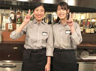 【Cafe/Bar Staff】.*◆≪週1日~OK≫≪扶養内OK≫◆*.NEW Staff大・大・大募集~!オシャレな店内&優しい店長が自慢です♪