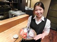 >>漁港から毎日直送!! 新鮮な魚を使った海鮮和食店◇+° 刺身/煮魚/焼き魚…まかないメニューも豊富ですよ◎