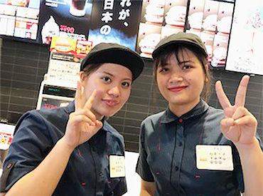 【マクドナルドクルー】\\佐賀県唯一!マックカフェ併設★//オシャレな店舗でマッククルーデビューしませんか?学校・家事との両立もバッチリ!