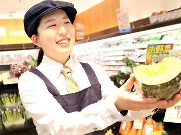 見てくださいこの笑顔!STAFF同士はいつもワイワイ☆笑顔で働きたい人大歓迎!野菜同様、フレッシュな雰囲気がウチの自慢です♪