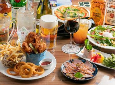 こだわりの料理・クラフトビールをご提供♪ ビール以外のドリンクも充実◎ 宴会や女子会など多くのお客様に楽しんで頂けます!