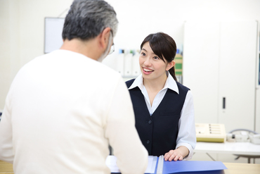 """《まさに病院の""""顔""""に♪》 経験・資格を活かしてオシゴト! お気軽にご応募ください* ※画像はimage"""