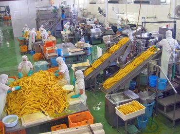 <レア!?>たくあん工場で働きませんか? 機械で流れてくる漬物を包装♪ すぐに慣れる作業ばかりです★