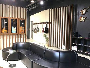 音楽スタジオの運営スタッフ大募集♪音楽が好き、という気持ちさえあれば大歓迎★