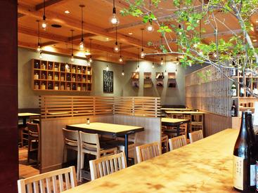 """【店舗Staff】。*◆""""美味しい音""""を届ける和食バル ◆*。開放感あるオシャレ空間で、楽しく働こう♪経験者は高時給スタートも!"""