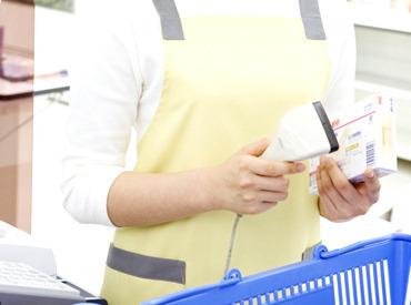 【店舗スタッフ】◎レジ ◎ベーカリー◎デイリー◎水産◎農産◎品出しなど、店舗内での業務全般!!覚える仕事量はそんなに多くありませんよ♪