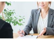 ノルマなし&残業ほぼなしのお仕事★業界未経験の方はもちろん、ブランクのある女性も活躍中! ※写真はイメージです。
