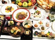 国際線の機内食の盛付や調理補助をお任せします!見本通りに食器を置いたり、料理を盛り付けたり、温度を記録したり等♪