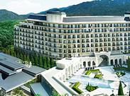 高級感あふれるホテルの雰囲気に だれもが思わずうっとり… こんな空間で働けるなんてめったにない!