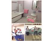 健康を維持するためにやってくる比較的元気なご利用者様なので、入浴時も見守りが中心です♪