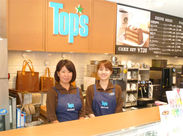 ≪Top's KEY'S CAFE≫ 淹れ方にこだわったコーヒーと 自慢のケーキ・カレーが大人気◎ 店内全面禁煙も嬉しい!!