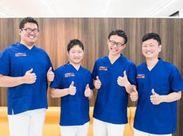 社員、アルバイト関係無くスタッフ同士の仲が良い職場です★新しいスタッフさんと一緒に働ける日を楽しみにしています!
