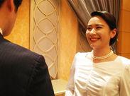 ホテルオークラ東京やパレスホテル東京etc勤務地多数あり♪高級ホテルで華やかなお仕事始めませんか?