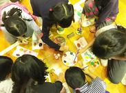 子どもがスキな方にオススメ♪ ◎あそびの種類は多種多様!子どもたちの想像力・創造力に刺激を受けます★