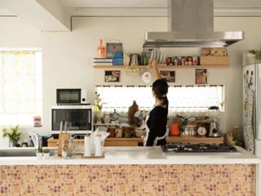 お客様の撮影がスムーズに進行するように、キッチン用具等の管理をお任せいたします。