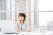 パソコンの作業は基本的な入力作業ができればOK!お仕事の流れなどはしっかりフォロー!※画像はイメージ