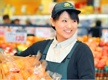 【店舗スタッフ】地域密着スーパーマーケット時間帯や職種も様々!新規スタッフ大募集!!