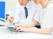 Word・Excel・PowerPointの基本的な操作ができればOK!経験やスキルは必要なし!オフィスワークデビューも歓迎◎※写真はimage